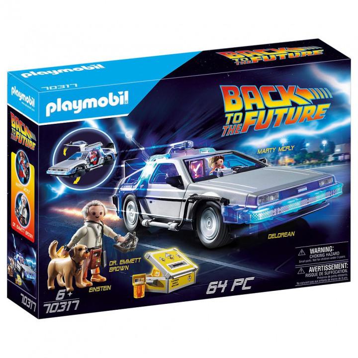 PLAYMOBIL 70317 - Back to the Future Συλλεκτικό όχημα Ντελόριαν