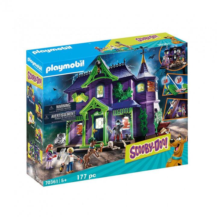 PLAYMOBIL 70361 - SCOOBY-DOO! Περιπέτεια στο Στοιχειωμένο Σπίτι