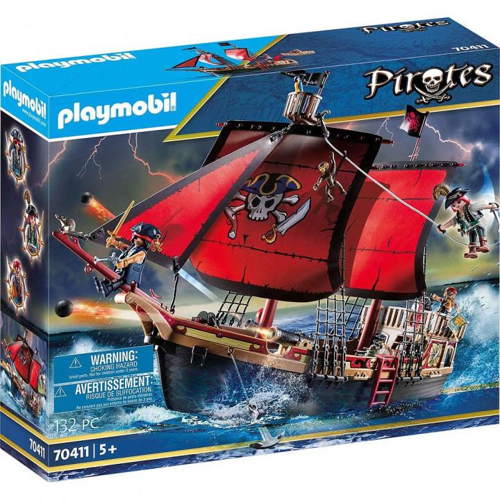 PLAYMOBIL 70411 - Πειρατική ναυαρχίδα