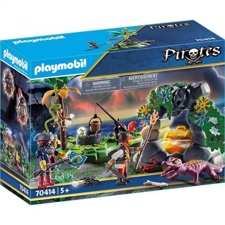 PLAYMOBIL 70414 - Κρυσφήγετο Πειρατών
