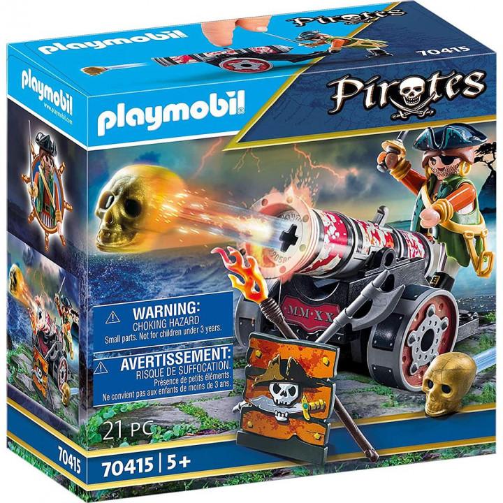 PLAYMOBIL 70415 - Πειρατής με κανόνι