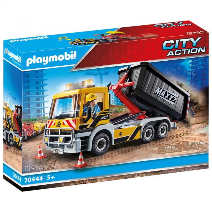PLAYMOBIL 70444 - Φορτηγό με ανατρεπόμενη καρότσα