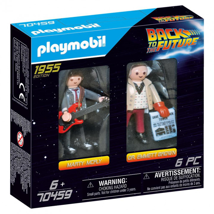 PLAYMOBIL 70459 - Back to the Future Μάρτι Μακ Φλάι και καθηγητής Έμετ Μπράουν