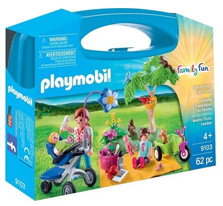 PLAYMOBIL 9103 - Maxi Βαλιτσάκι Πικ-νικ στην εξοχή