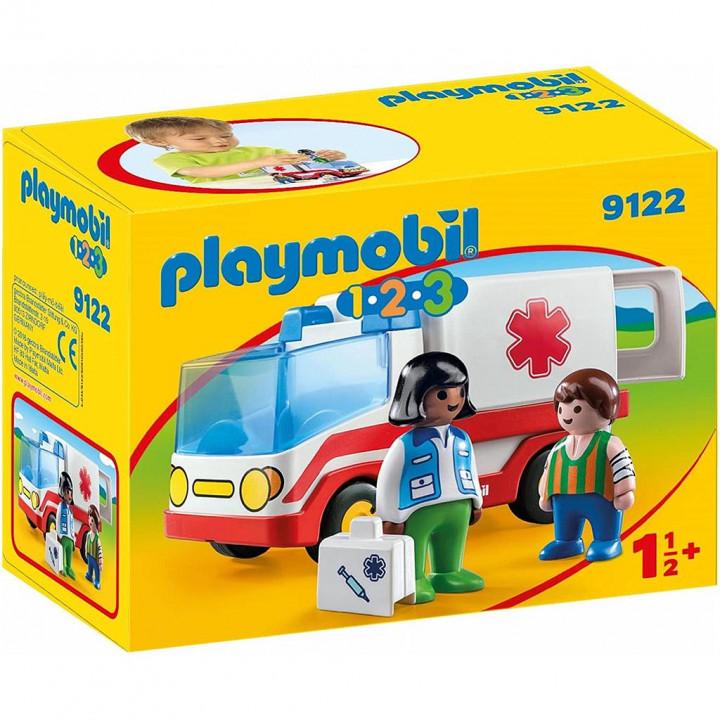 PLAYMOBIL 9122 - Γιατρός και ασθενοφόρο