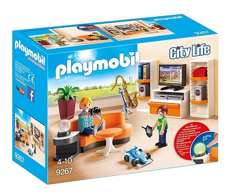PLAYMOBIL 9267 - Μοντέρνο καθιστικό