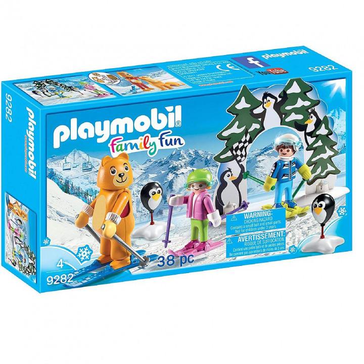 PLAYMOBIL 9282 - Εκπαιδευτής σκι με παιδάκια