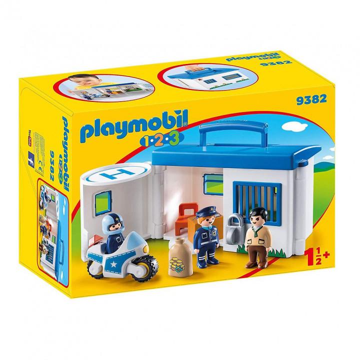 PLAYMOBIL 9382 - Αστυνομικό Τμήμα Βαλιτσάκι