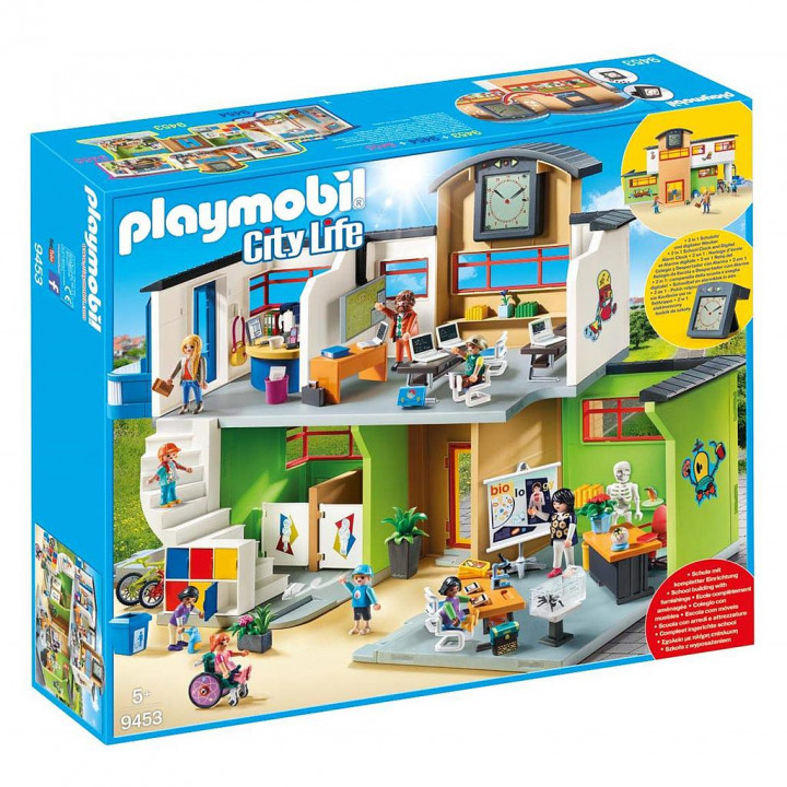 PLAYMOBIL 9453 - Επιπλωμένο Σχολικό Κτίριο