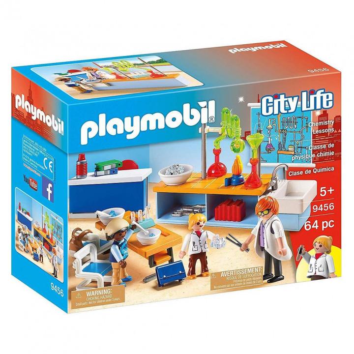 PLAYMOBIL 9456 - Τάξη Χημείας