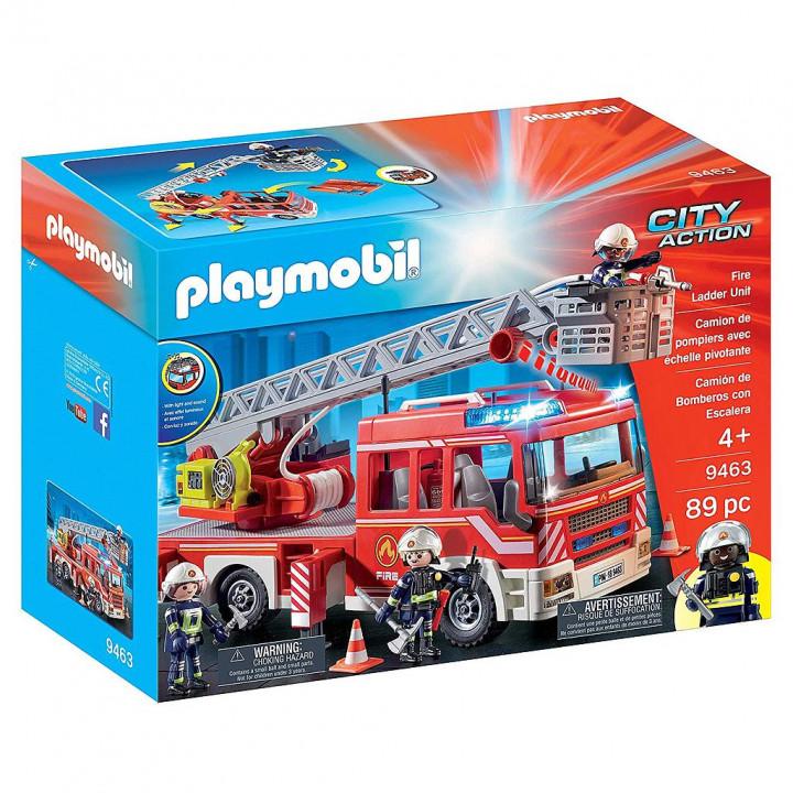 PLAYMOBIL 9463 - Όχημα Πυροσβεστικής με σκάλα και καλάθι διάσωσης