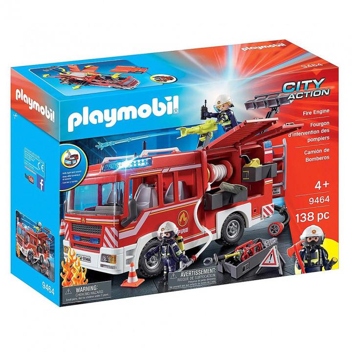 PLAYMOBIL 9464 - Πυροσβεστικό Όχημα