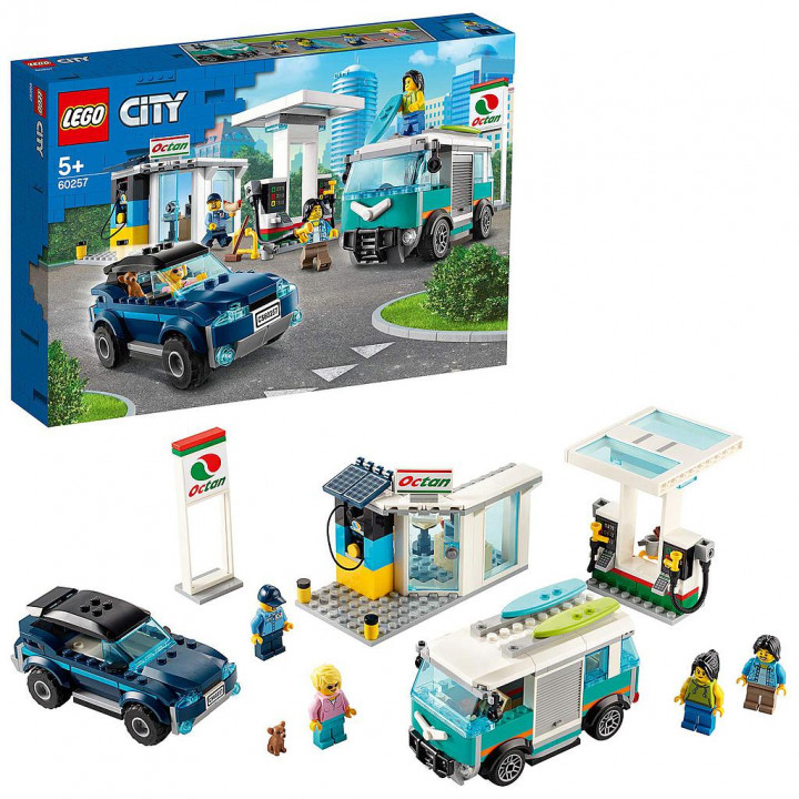 LEGO CITY Service Station 60257