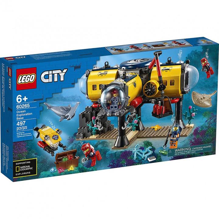 LEGO CITY OCEAN EXPLORATION BASE 60265