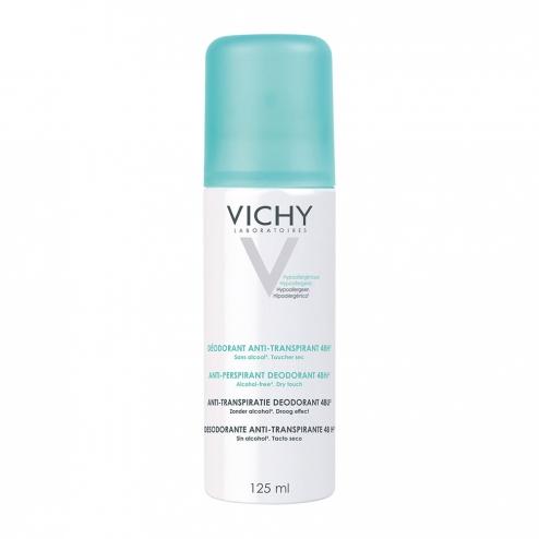 Vichy No Marks Aerosol Anti-Perspirant Deodorant 125ml