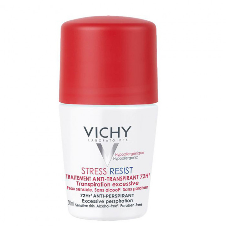 VICHY ROLL-ON STRESS RESISTANT 72HR