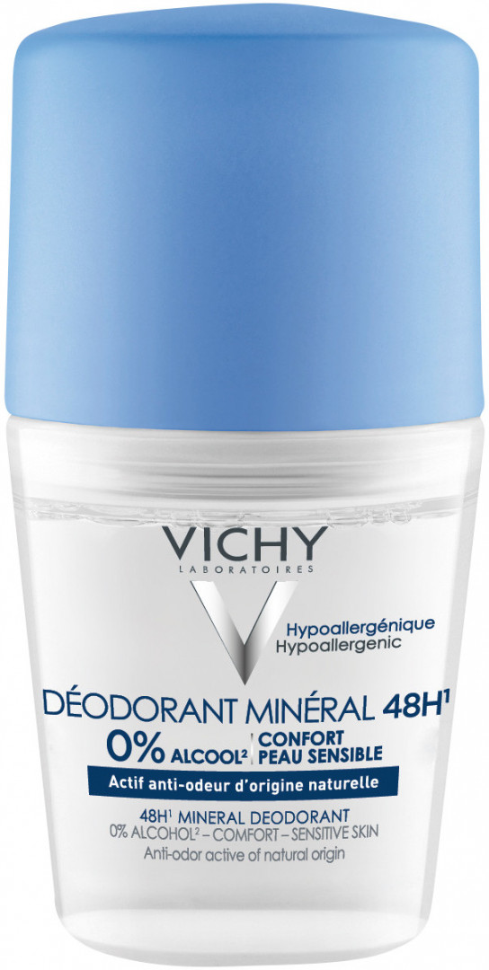 Vichy Deodorant Mineral Roll 48H 50ml