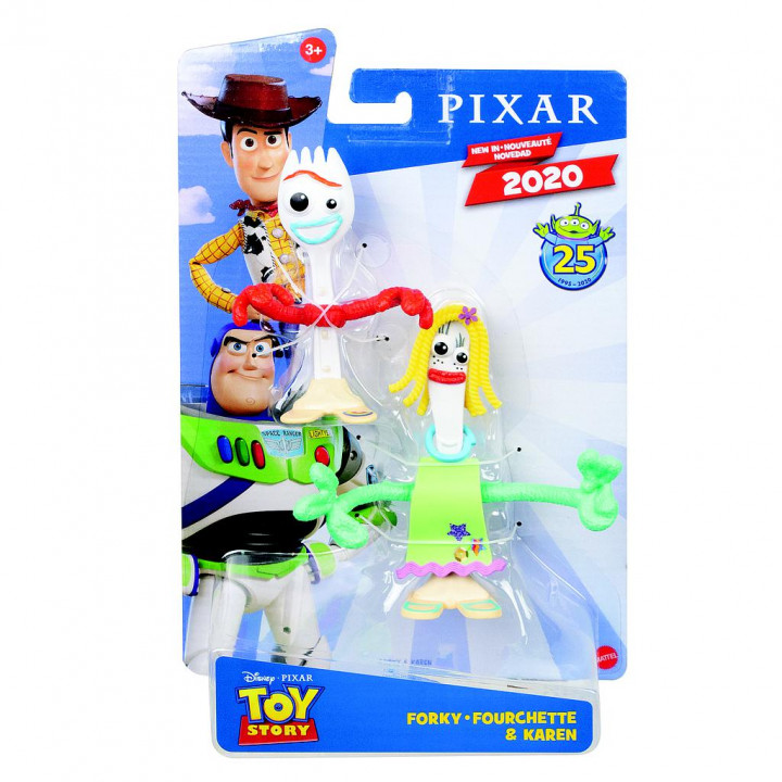 Toy Story 4 - Forky & Karen φιγούρες 18εκ.
