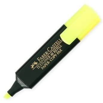FABER CASTELL HIGHLIGHTER - YELOW