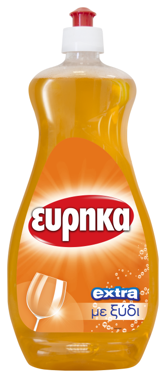 EURIKA DISH WASHING ORANGE 750ml