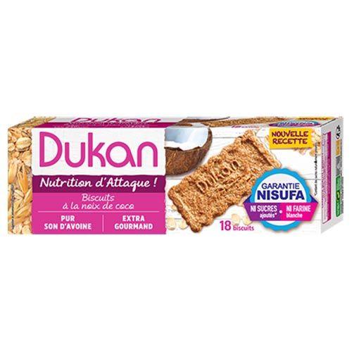 Dukan Μπισκότα βρώμης με γεύση καρύδα 200g