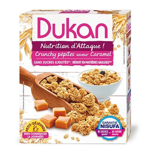 Dukan Δημητριακά βρώμης με καραμέλα 350g