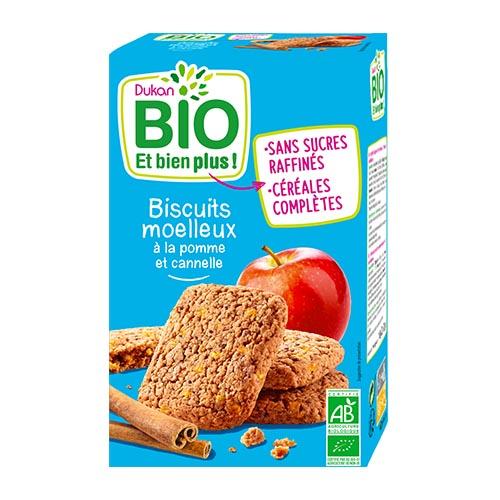 Dukan Bio Apple Cinnamon Soft Cookies
