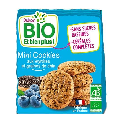 Dukan Bio Blueberries & Chia seeds Organic Mini cookies 120g