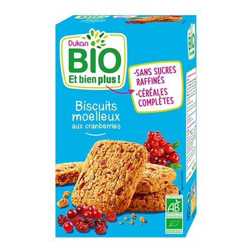Dukan Bio Cranberries Organic Biscuits 150g