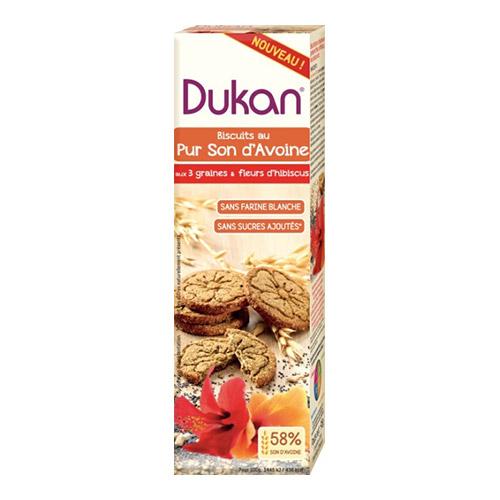 Dukan Oat Bran Biscuits with Multigrain and Hibiscus 95g