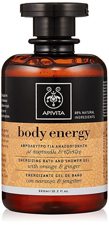 Apivita Body Energy Shower Gel 300ml