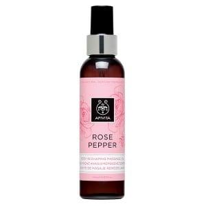 Apivita Body Oil Rose Pepper 150ml