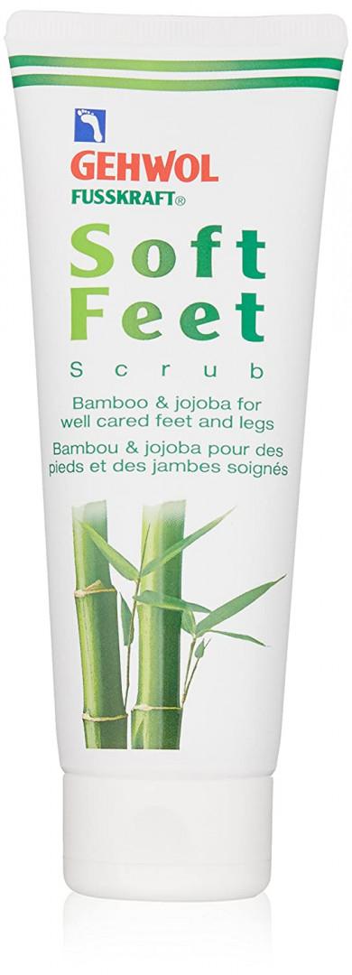 Gehwol Fusskraft Soft Feet Scrub with Bamboo & Jojoba 125mg