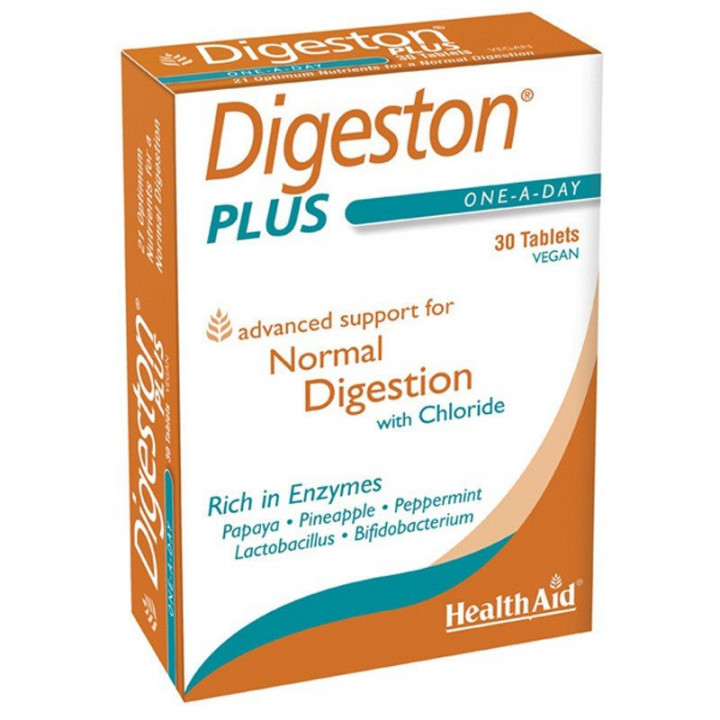 Health Aid Digeston Plus 30 Tablets