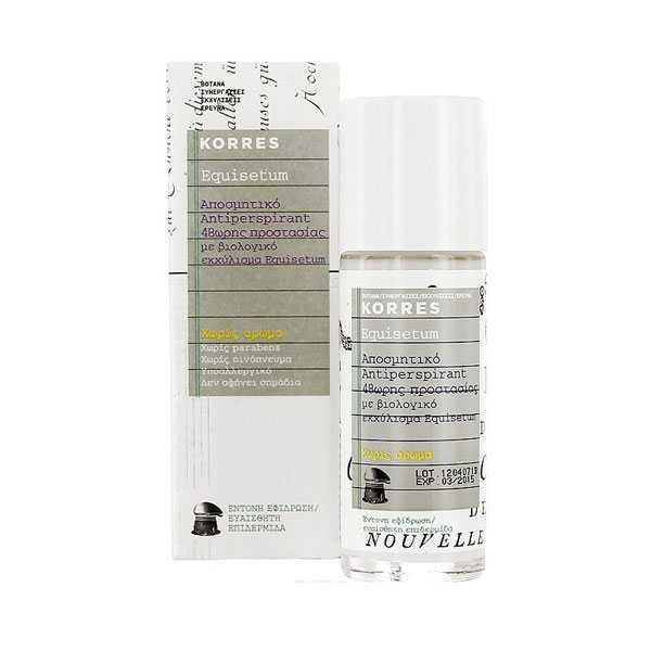 Korres Equisetum 48h Deodorant Antiperspirant 30ml