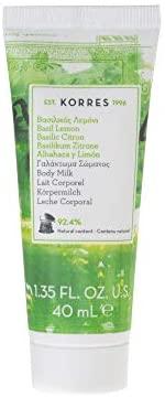 Korres Body Milk Basil Lemon 200ml