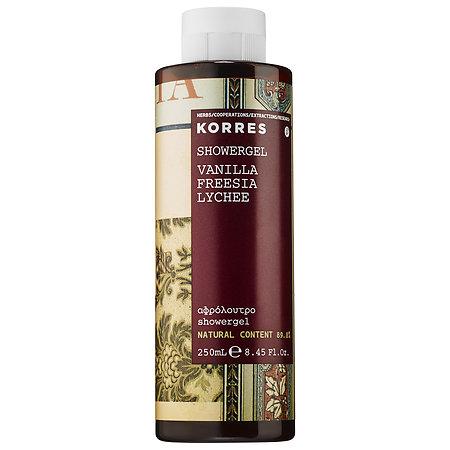 Korres Vanilla Shower Gel 250ml