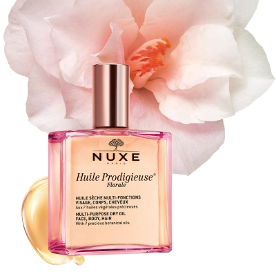 Nuxe Huile Prodigieuse Floral Oil Face Body Hair 100ml