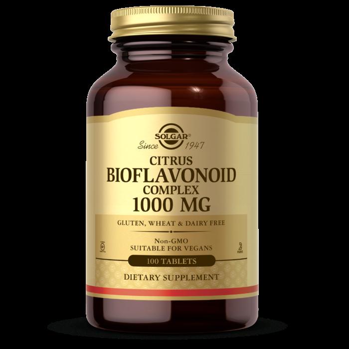 Solgar Citrus Bioflavonoid Complex 1000mg 100 Tablets