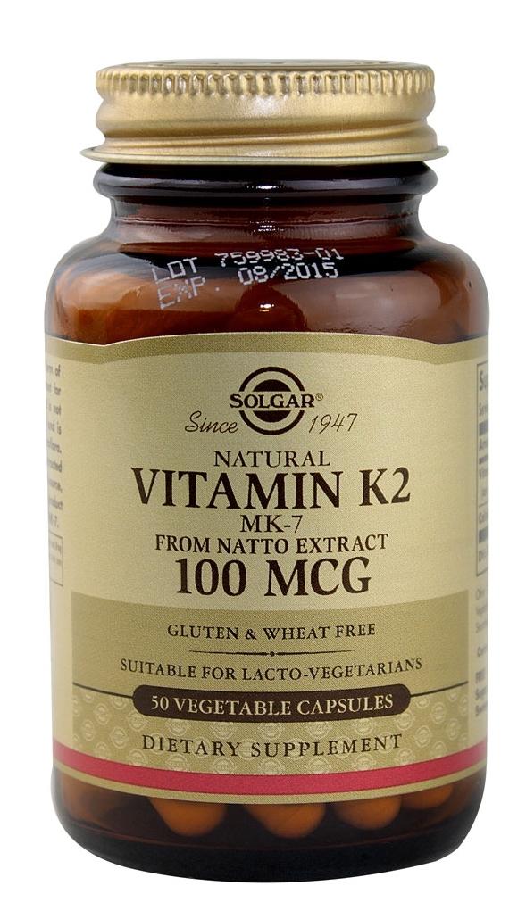 Solgar Vitamin K2 50 caps x 100mg