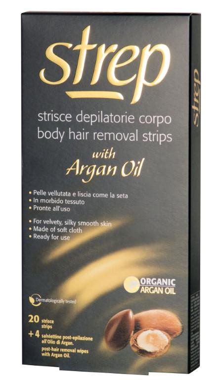 STREP ARGAN OIL BODY STRIPS x20