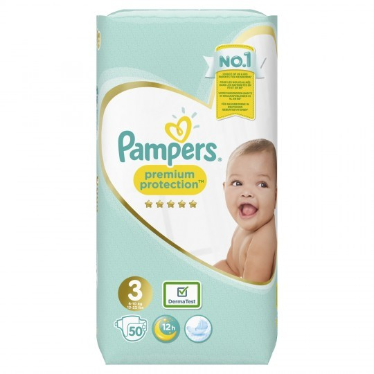 PAMPERS PREMIUM PROTECTION S3 50s VP