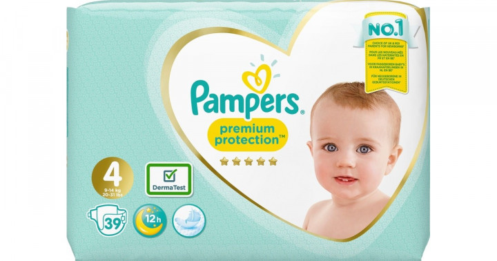 PAMPERS PREMIUM PROTECTION S4 39s VP