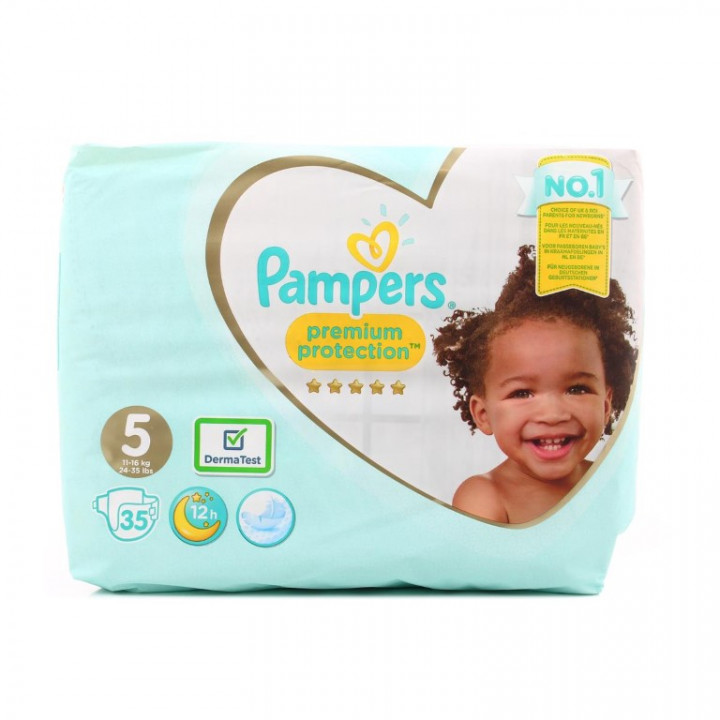 PAMPERS PREMIUM PROTECTION S5 35s VP