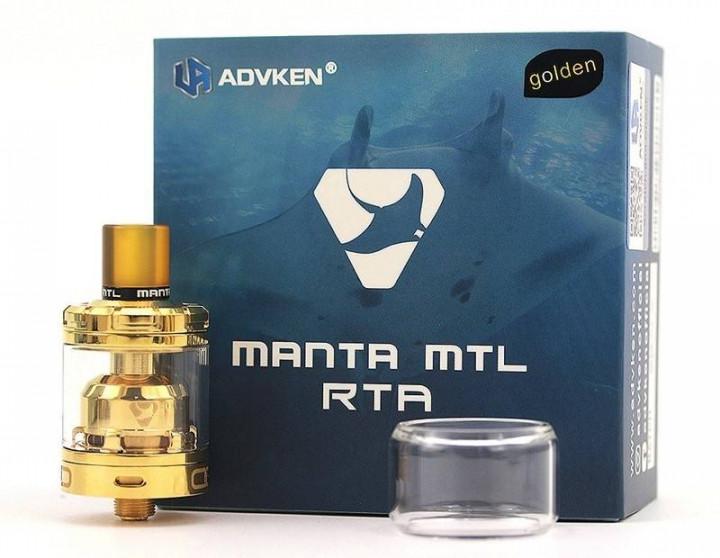 ADVKEN MANTA MTL RTA GOLD