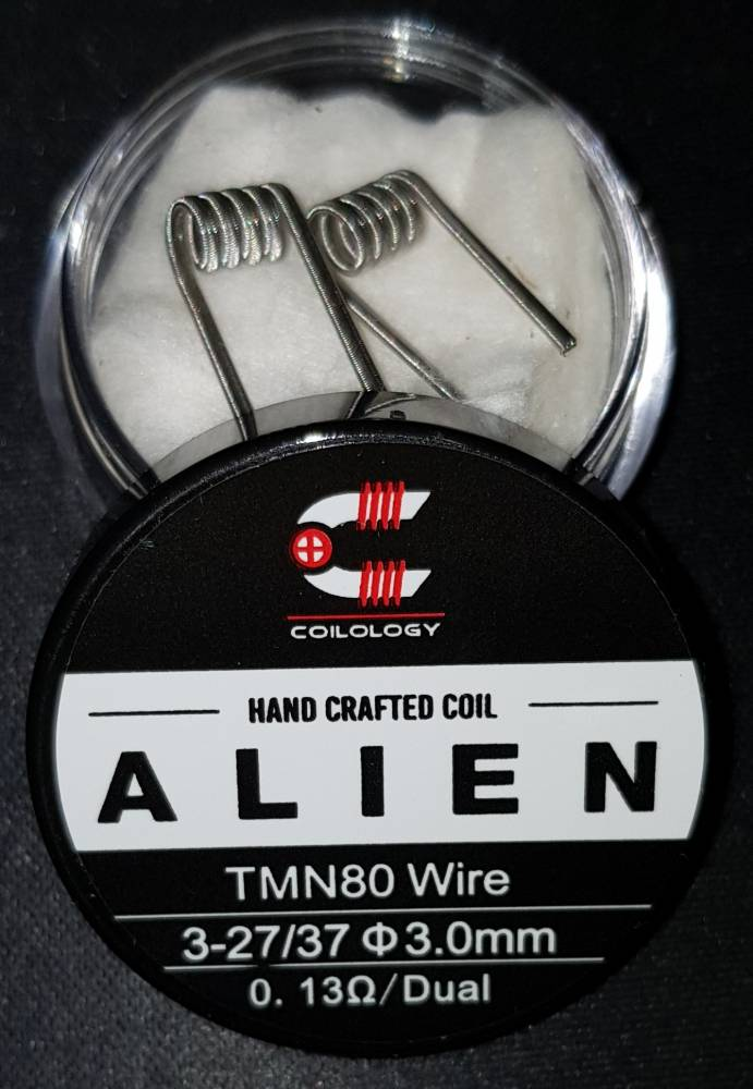 COILOLOGY ALIEN V2 3-27/37 HANDCRAFTED COIL