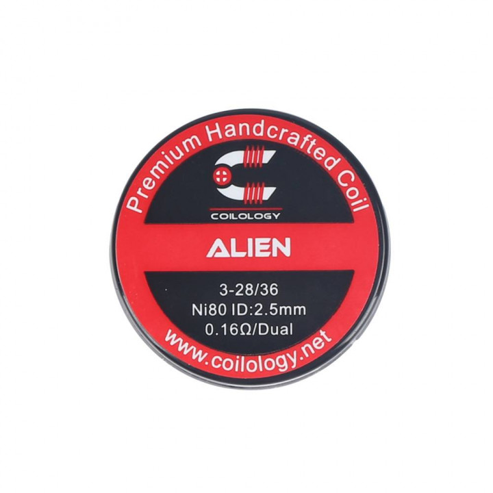 COILOLOGY ALIEN 3-28/36 HANDCRAFTED  COIL