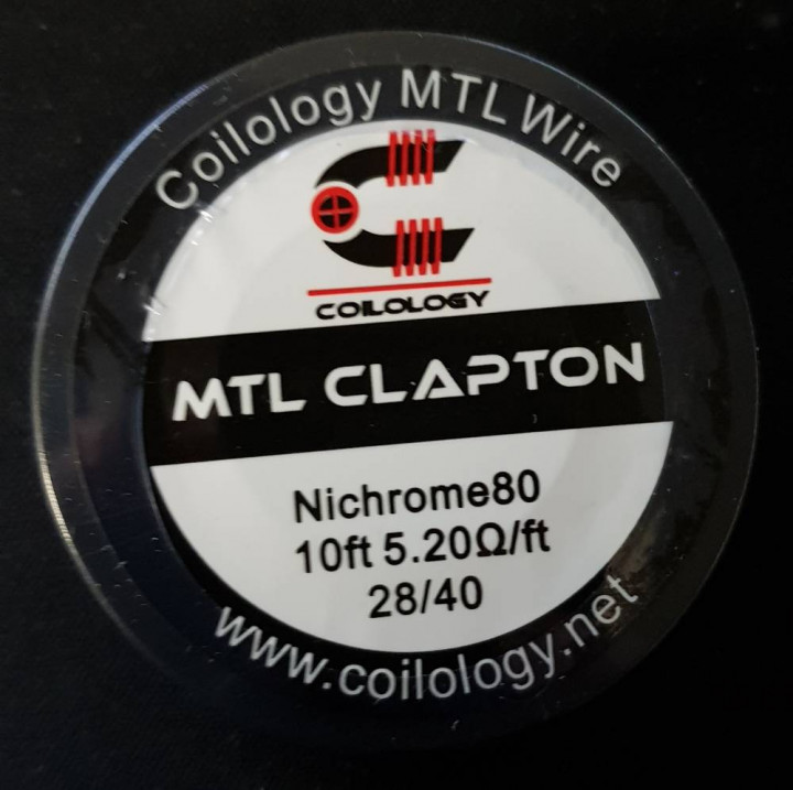 COILOLOGY MTL WIRE CLAPTON 28/40