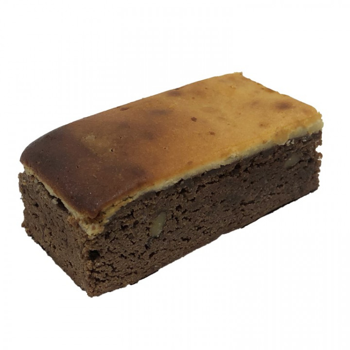 Brownie with Cheese and walnuts