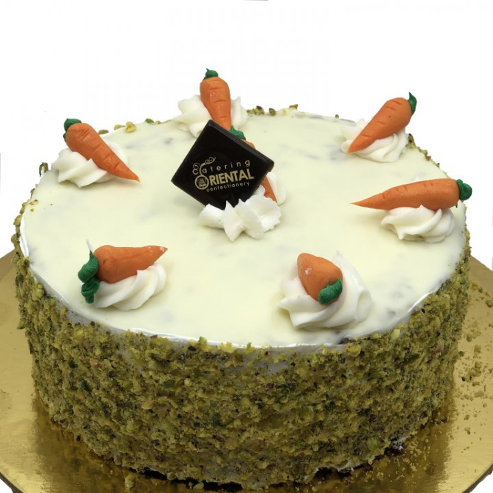 Carrot cake - small round